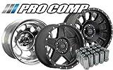 Pro Comp Wheels 7515042 Center Cap 5.15 in. Push Thru 2 pc. Chrome Center Cap
