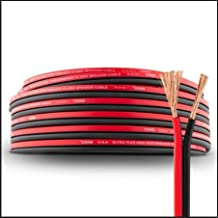 Sponsored Ad - DS18 SW-18GA-100RB Ultra Flex Speaker Wire Red and Black 100FT - Speaker Cable for Audio Applications