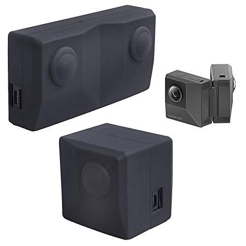 Holaca, set di protezioni in silicone compatibile con Insta360 EVO Action Camera Waterproof , morbida e leggera protezione della fotocamera Ultra HD 4K Action Camera di Holaca.