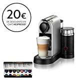 Krups Nespresso CitiZ&Milk XN761B - Cafetera Monodosis Cápsulas, 19 bares, Depósito Agua...