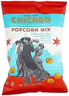 Trader Joe's Caramel Cheddar Popcorn Mix Gluten Free NET WT.7OZ (198g) - 2-PACK