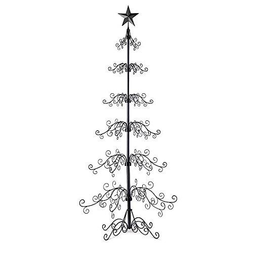 Metal Ornament Tree-84'H - Black