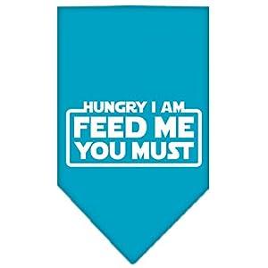 Mirage Hungry I Am écran Imprimé Bandana pour animaux domestiques
