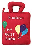 Pockets of Learning Personalized My Quiet Book, Activity Busy Book for Toddlers and Children, Original Quiet Book