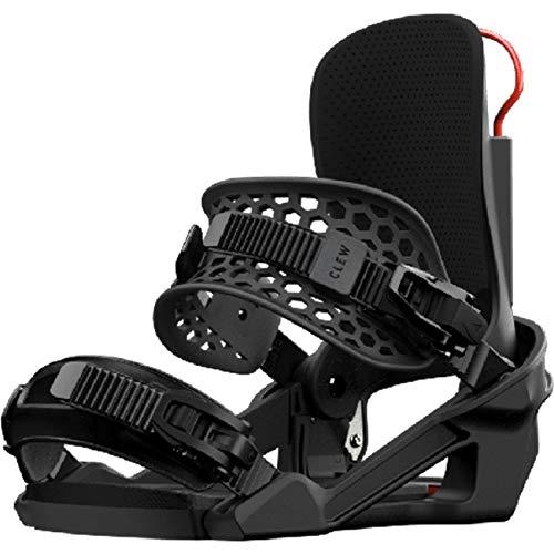 Clew Snowboardbindung 20, Größe:L, Farben:schwarz