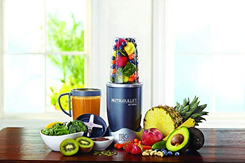 5. NutriBullet 8-Piece High-Speed Blender/Mixer System, Gray
