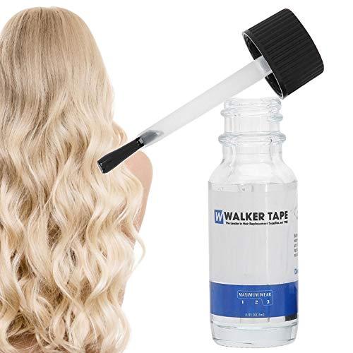 Pegamento adhesivo para peluca de 15 ml, Pegamento para el cabello Pegamento para el cabell Pegamento para peluca de encaje Suministros de extensión