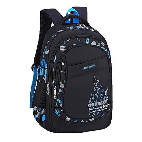 School Backpack Fashion School Bags For Girls Backpack Schoolbag Satchel Backpack Child Kids School Bag Mochila #H10-Blue_United_States_16_Inches