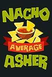 NACHO AVERAGE NESTOR Funny Birthday Personalized Name Gift Premium: Notebook Planner - 6x9 inch Dail...