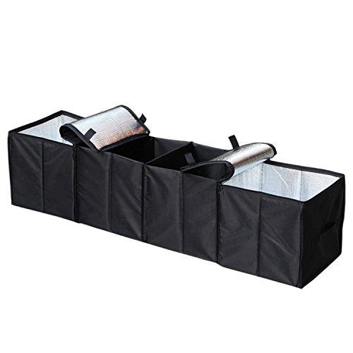 Fbest 車用収納ボックス 大容量 車載 収納ケース 折りたたみ 収納 ラゲッジ 防水 滑り止め トランク 多機能 カーボックス box 蓋つき 整理箱 保冷 後部座席 キャンプ (XL) [並行輸入品]