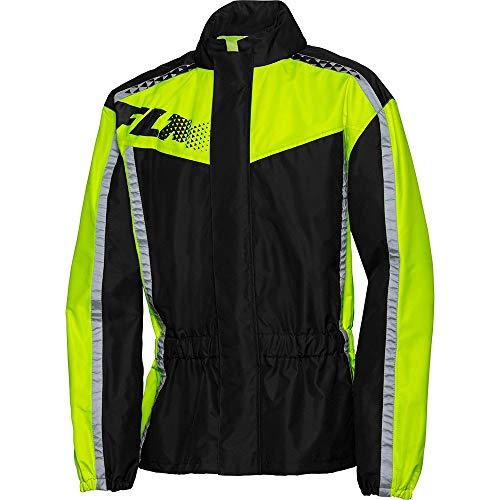 FLM Regenjacke, Regenschutz, Fahrrad Regenbekleidung Textil Regenjacke 3.0 Neongelb 3XL, Unisex, Multipurpose, Ganzjährig