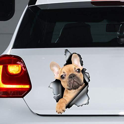 French Bulldog Car Sticker , French Bulldog Magnet, French Bulldog Decal
