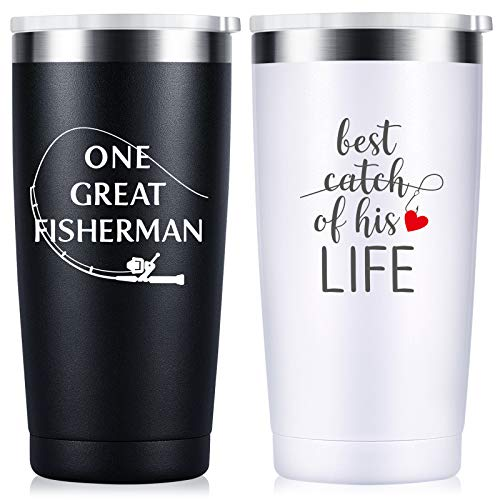 His and Hers Travel Mugs