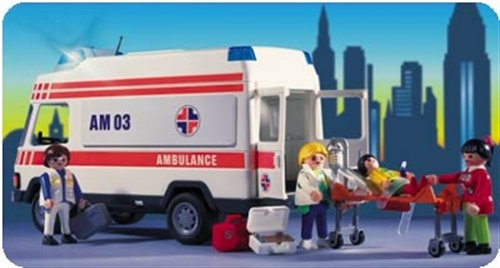 PLAYMOBIL 3925 - Rettungswagen
