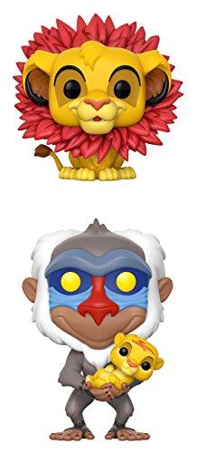 Funko Disney POP! Lion King Simba Rafiki Holding Baby Simba Collectible Set