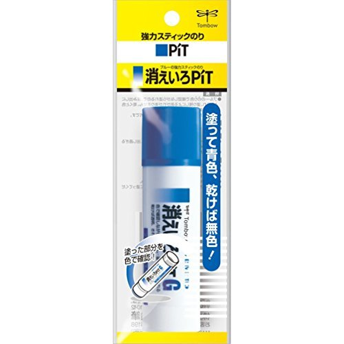 トンボ鉛筆 スティック糊消えいろピットGパック HCA-131 00817390 【まとめ買い10個セット】