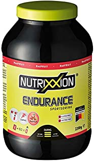 Nutrixxion ENERGÍA ENDURANCE Drink con BCAA. VITAMINAS y MINERALES Set 2.2kg Dose. FlavorName RedFruit