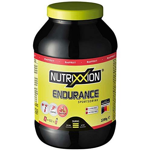 Nutrixxion ENERGÍA ENDURANCE Drink con BCAA, VITAMINAS y MINERALES Set 2.2kg Dose, FlavorName RedFruit