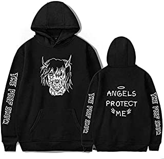 Angels Protect Me Lil Peep Hoodies Sudaderas Sweatshirt Harajuku Cotton Unisex Cry Baby Lovely Pullover