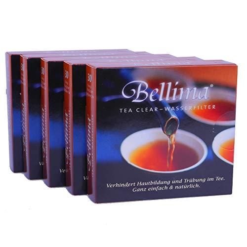 Bellima Wasserfächer - entfernen Kalk aus hartem Wasser für feinsten Teegeschmack, natürliche Wirkstoffe