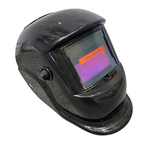 Uadme Máscara de Casco de Soldadura eléctrica - Máscara Protectora de Soldadura con oscurecimiento Solar automático Lente de Rango Ajustable para Soldadura por Arco TIG MIG Trabajos de Soldadura