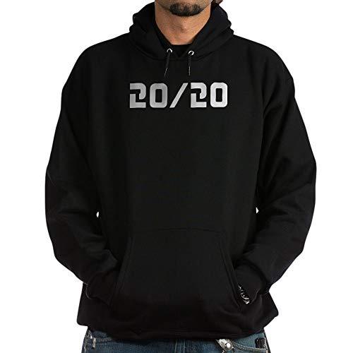 CafePress 20/20 Vision - Pullover Hoodie, Kapuzen-Sweatshirt Gr. M, Schwarz
