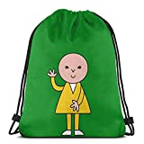 WH-CLA Drawstring Bags Ndvh Bod Yoga Casual Stampato Durable Unico Travel Drawstring Bags Sport Cinch Pack Print Shopping Drawstring Backpack Gym Sack Uomini Anime Women Lightweight Sport