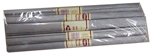 DAS Produkt Kreppapier Verschiedene Sorten (Silber)