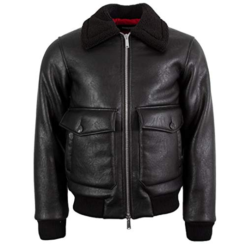 DSQUARED2 Hombre Bomber S71AN0094 S52063 900 Chaqueta