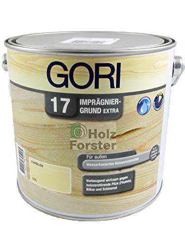 2,5L GORI 17 Imprägniergrund Extra farblos Holzschutzgrundierung