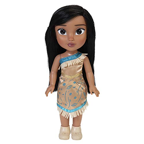 "Disney Princess My Friend Pocahontas Doll 14"" Tall Includes Removable Outfit and Shoes"