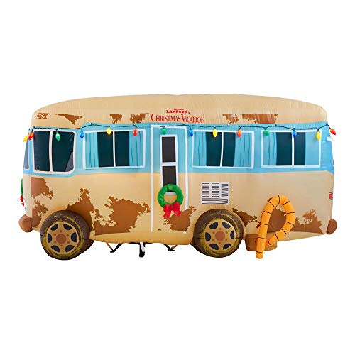 Gemmy 7.5Ft. Wide Christmas Inflatable National Lampoon's Christmas Vacation Uncle Eddie's RV...