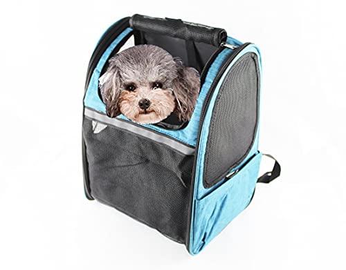 Portador de Viaje Mochila Bolsa de Transporte para Mascotas Perros Gatos Malla...