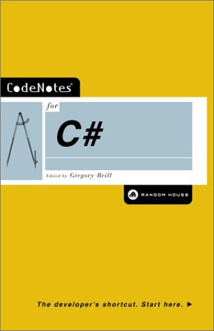 CodeNotes for C# (English Edition)