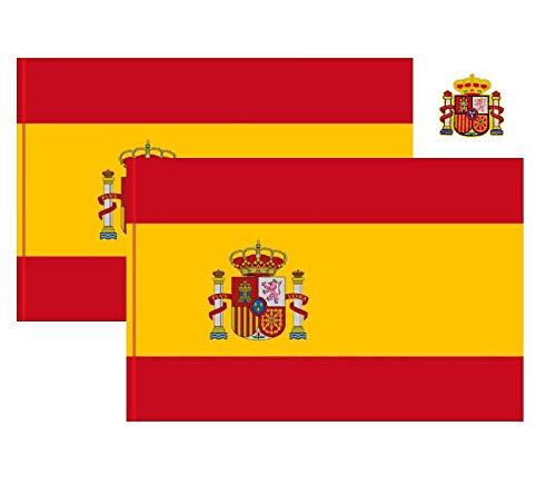 Durabol Bandera de España (España 150 * 90 cm Polister)