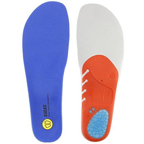 【SIDAS】シダス インソール テニス・バスケットボール・バレーボール・バドミントン用 アクション 3D S 20121861 ブルー S(23.5cm-24.5cm)