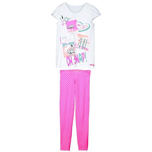 Petit Béguin - Pyjama fille tunique + legging Caramel - Taille - 12/14 ans