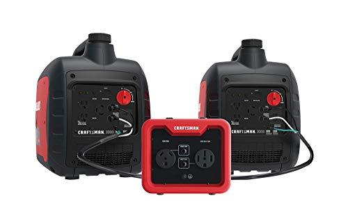 Craftsman C0010050 3000 Inverter Parallel Kit, Red, Black