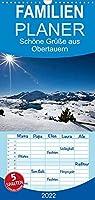 Schoene Gruesse aus Obertauern - Familienplaner hoch (Wandkalender 2022 , 21 cm x 45 cm, hoch): Obertauern in den Radstaedter Tauern in den 4 Jahreszeiten (Monatskalender, 14 Seiten )