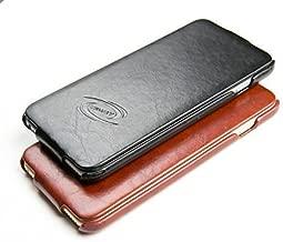 URWay Handmade Luxurious Leather Vertical Flip Case for iPhone 6 PLUS & iPhone 6S PLUS - BLACK