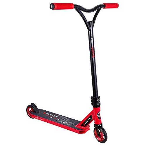 BESTIAL WOLF Booster B16, Scooter Pro, Manillar Negro y Tabla roja