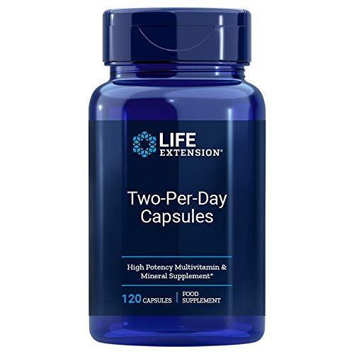 Life Extension Two-Per-Day, Capsules, 120 caps