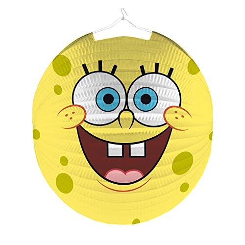 Nickelodeon Laterne/Lampion Sponge BOB (rund / 25 cm)