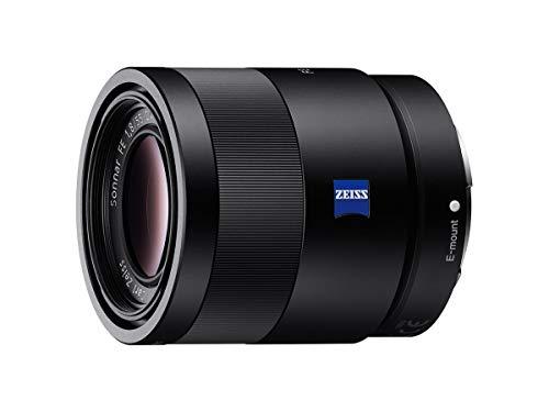 Sony SEL-55F18Z Zeiss Standard lens (vaste brandpuntsafstand, 55 mm, F1,8, volledig formaat, geschikt voor A7, A6000, A5100, A5000 en Nex series, E-Mount) zwart