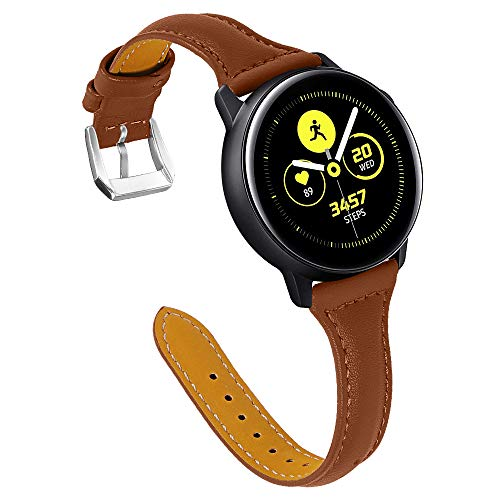XZZTX Compatible avec Les Bandes Galaxy Watch Active/Garmin Vivoactive 3 Bandes, 20 mm Ceinture de Remplacement Compatible avec la Montre Galaxy Active/Galaxy Watch 42 mm/Gear Sport,20mm