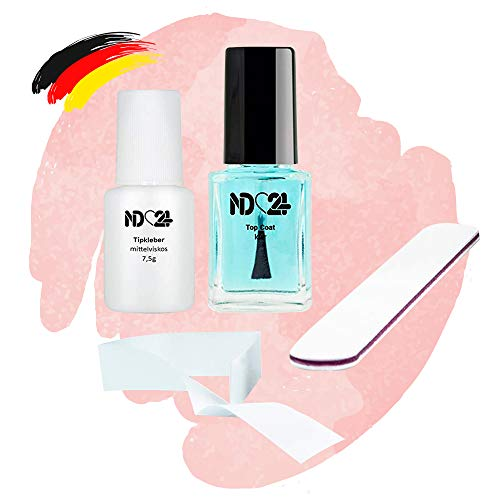 Nagel Sos Repair Set - Nagel Notfall Set - Nail Reparatur Set - Nageldesign Reise Set