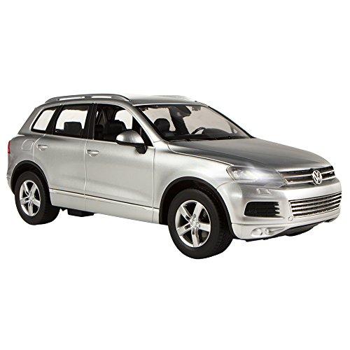 RC Auto kaufen Spielzeug Bild 2: Rastar Volkswagen Touareg, RC Auto, Maßstab 1: 14 grau*