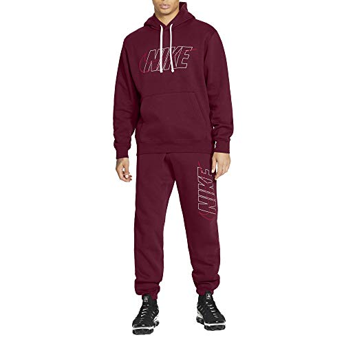 Nike Chándal para hombre Club Burdeos, cód. CU4323-638 burdeos XS
