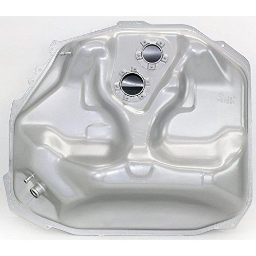 Fuel Tank for Honda Civic 96-98 Steel Silver 12 Gallon/45Liters 35 X 28 X 10 In. W/Lock Ring