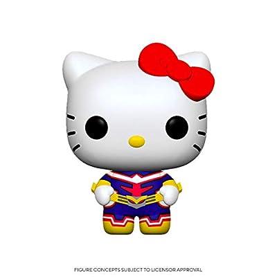 Funko Pop! Animation: Sanrio/My Hero Academia - Hello Kitty-All Might, Multicolor (46829) by Funko